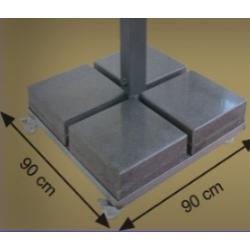 Mermer - Metal Şemsiye Altlığı